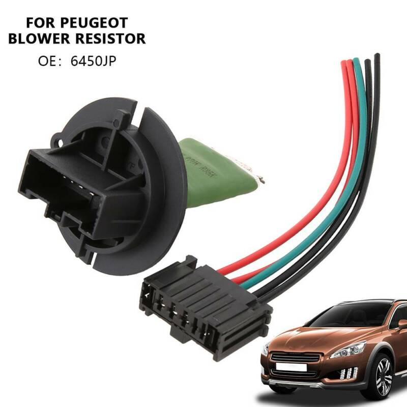 Peugeot 307 Calentador resistencia del Motor del Ventilador Telar De Cableado Conector Kit De Reparación