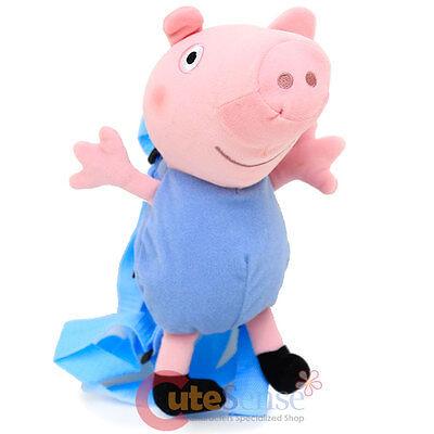 Peppa Pig George Plüsch Puppe Kostüm Rucksack -1