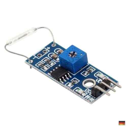 Reed Sensor Modul Magnetschalter Reedkontakt Arduino Reaspberry Pi