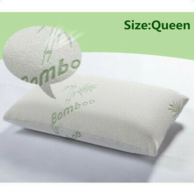 Portable Hypoallergenic Bamboo Fiber Memory Foam Classic Bed Pillow Soft Cushion Bamboo Classic Pillow