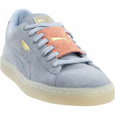 Puma Suede Epic Remix Junior Sneakers Casual   Sneakers Blue Boys - Size 7 M