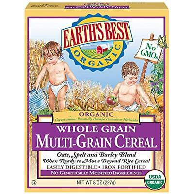 SALE Earth&39s Best Organic Infant Cereal, Whole Multi-Grain, 8 Oz. Box (Pack Of Cereal 8 Oz Box