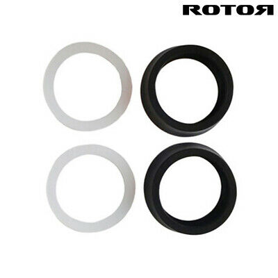 ROTOR CRANK SPACER KIT 24mm Axle Spacers 2mm x 2 OSBB ROAD SPACER KIT