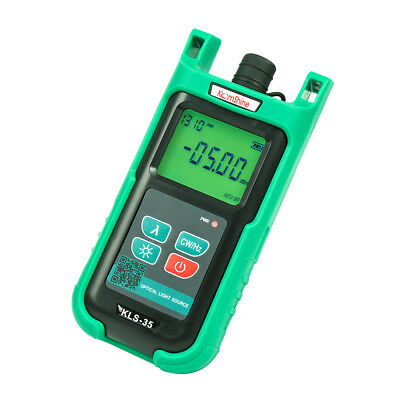 Singlemode Optic Fiber Light Source Kls-35 Fttx Handheld Type Fiber Cable Tester