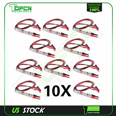 High Quality 10 Set Universal Probe Test Leads Pin For Fluke Tl71 10a Test