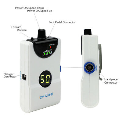 220v Dental Portable Micro Motor Brushless Machine Dental Lab Portable 50000 Rpm