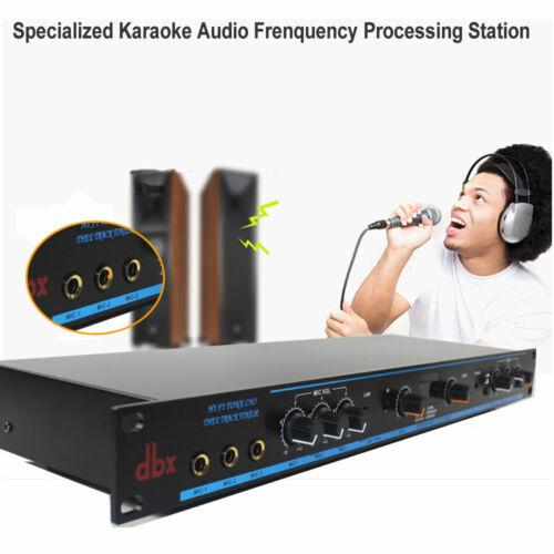 Karaoke Mixer,Audio Frenquency Processing Station,Audio Sound Processor,DSP-100