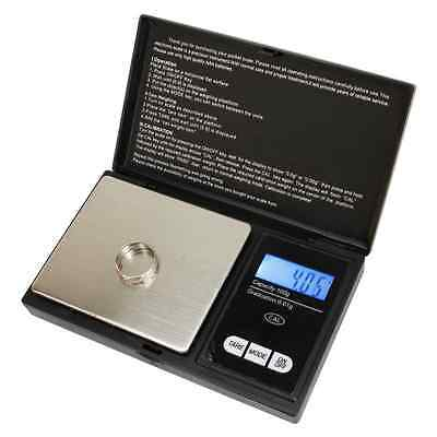 Weigh 100g x 0.01g Digital Digital Scale Electronic Jewelry Pocket Black