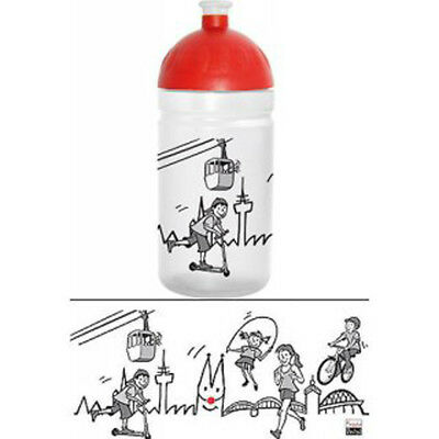 Trinkflasche Köln 0,5 l Flasche kalt & heiß Getränke Kinderflasche Wasserflasche