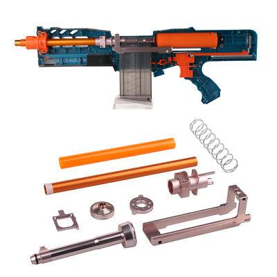 Worker Mod Short Darts Upgrade Kit Metal for Nerf LongShot CS-12 Modify Toy
