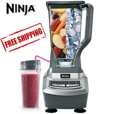 Ninja BL740FS 1100W Pro Blender with Single Serve Cup (Certified Refurbished)