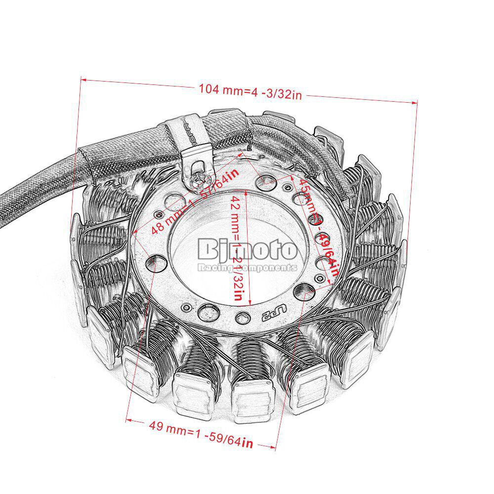 Generator Stator Coil For Kawasaki Ninja ZX-6R ZRX400