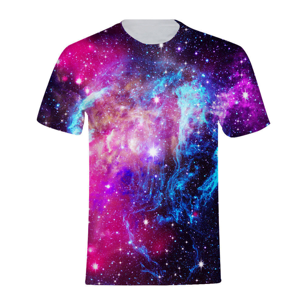 Galaxy Space Design All Over Print Men S Short Sleeve T Shirt
