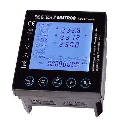 Panelmeter,Einbaumessgerät 96x96, Stromzähler mit RS485 Modbus, Ethernet TCP/IP