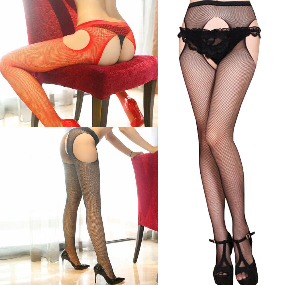 Women Mesh Net Fishnet Bodystockings Pattern Pantyhose Thin Tights Stockings mtY