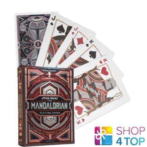 Mandalorian Star Wars Theory 11 Cards Deck Magic Tricks Poker Red Black New