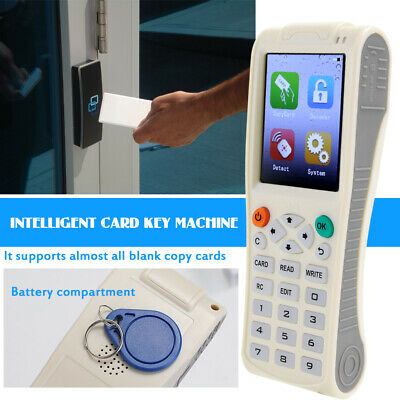 Icopy8 Intelligent Card Key Machine Rfid Nfc Copier Icidreader Writer Dup 4xaaa