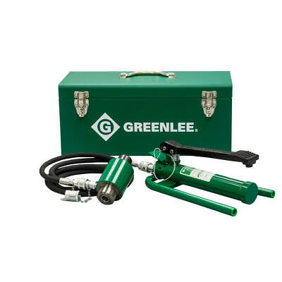 Greenlee 7625 11-ton Hydraulic Knockout Driver With Foot Pump
