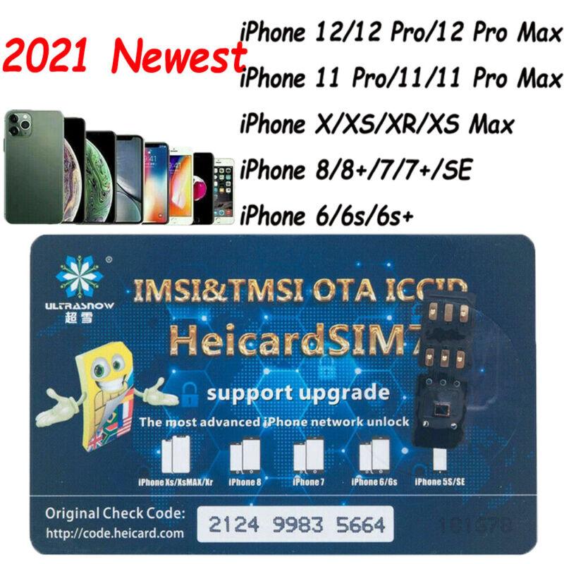 Heicard Turbo unlock Chip Sim Card For Apple iPhone 12 Pro Max/11 Pro Max/XR/7/8