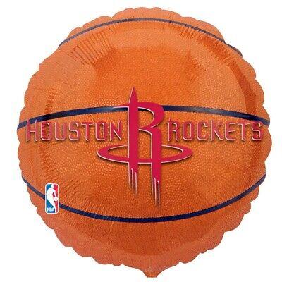 HOUSTON ROCKETS NBA BASKETBALL PARTY BALLOON - Balloons Houston