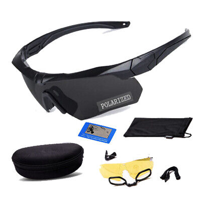 Goggles Protection Military Glasses Paintball Shooting Polarized Sunglasses -