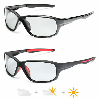 Photochromic Sunglasses Mens Polarized Eyewear Transition Lens Driving (Polarised Transition Lenses)