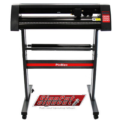 "Vinyl Cutter Plotter Machine with Stand 28 "" Business  SignCut Pro Optical Eye"