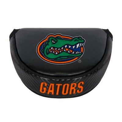 FLORIDA GATORS EMBROIDERED LOGO BLACK PUTTER MALLET COVER NEW