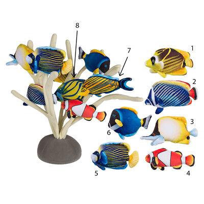 Kühlschrankmagnet Plüschtier Fisch Tropenfisch Anemonenfisch Magnet Notiz