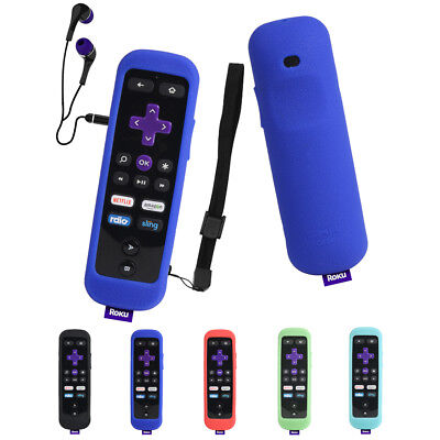 For Roku 3 (4230 and 4200) Roku 2 (4210) RC54R Roku Gaming Remote Silicone Case