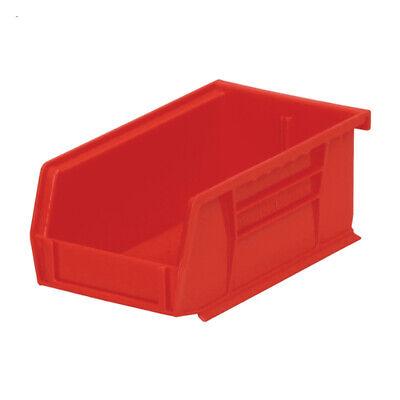 24-pack Akro-mils Plastic Storage Stacking Hanging Akro Bin 7x4x3 Red