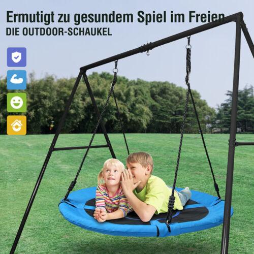 Nestschaukel Kinder Schaukel Gartenschaukel Schaukelgestell Metallgestell 100cm