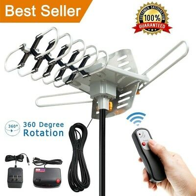 Hdtv Antenna 150 Mile Range Attic Outdoor 4K Best Amplified Tv Remote Wireless