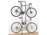 Gravity double bike stand for sale