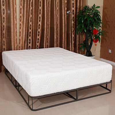 "12"" inch Queen COOL MEDIUM-FIRM GEL Memory Foam Mattress Bed w/ 2 Free Pillows"