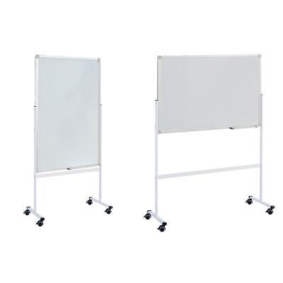 Mobile Whiteboard Double-side Magnetic Dry Erase Board Stand 36 X 24 Office