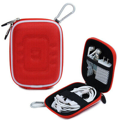 Small Electronic Accessories Storage Case Travel USB Cable Charger Organizer Bag