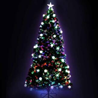 LED Christmas Tree - 210cm[XM-TR-LED-7F-MOON-GR]
