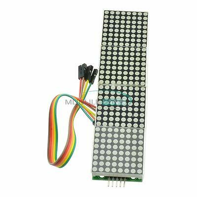 Max7219 Dot Led Matrix Mcu Control Led Display Module For Arduino Raspberry Pi M