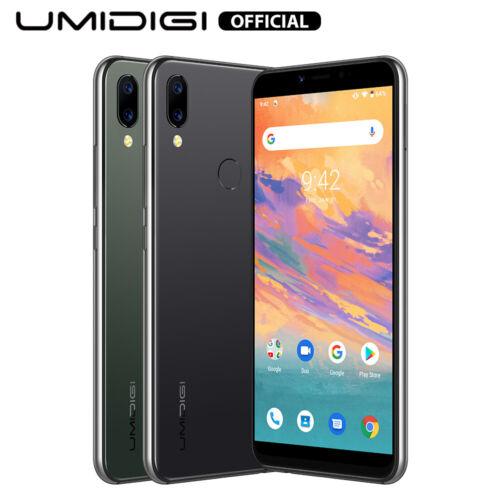 "Android Phone - UMIDIGI A3S Unlocked Quad Core Dual Rear Camera 5.7"" Face ID Android 10 3950mAh"