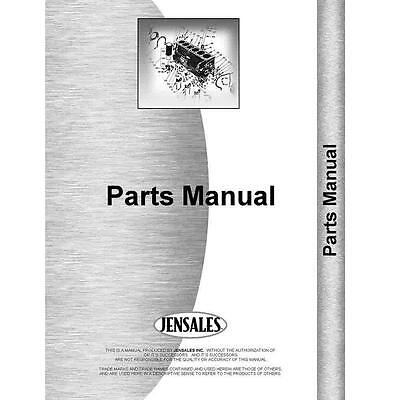 New Ford 1210 Tractor Parts Manual