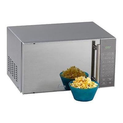 Avanti 0.8 Cu. Ft. Compact Microwave Oven - Stainless Steel