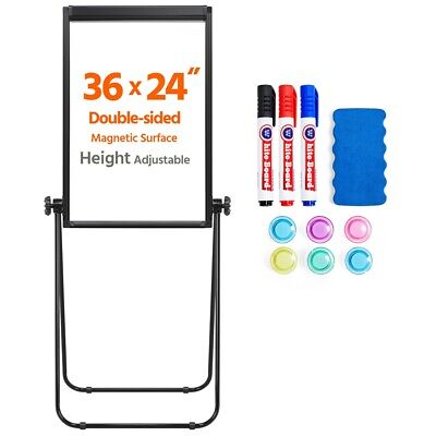 24 X 36 U-stand Whiteboard Dry Erase Easel Board Height Adjustable White Board