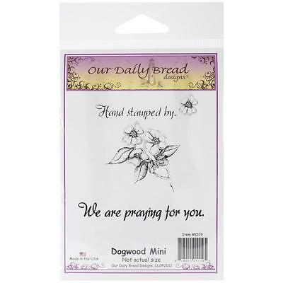 Our Daily Bread Cling Stamps Dogwood Mini   New