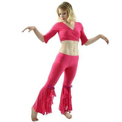 Danzcue Womens Dynamic 2-Piece Belly Dance Costume(Belt not included)