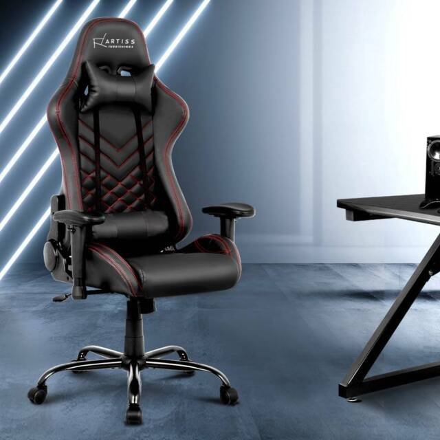 GAMING OFFICE CHAIRS COMPUTER DESK RACING RECLINER