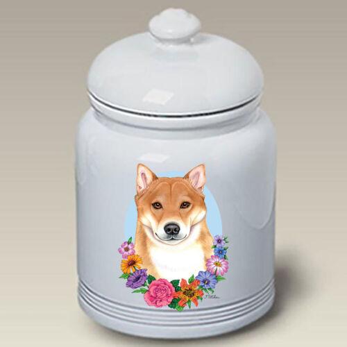 Shiba Inu Ceramic Treat Jar TP 47103