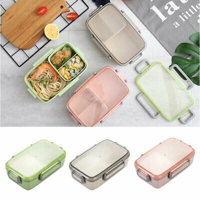 New Lattice  Lunch Box Portable Leak-Proof Bento Box  For Kids School Picnic HL