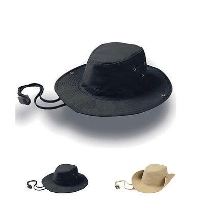 Atlantis Ranger Hut Hat Western Stil Style Luftlöcher Metall Ösen Knöpfe Neuware (Ranger Hut)