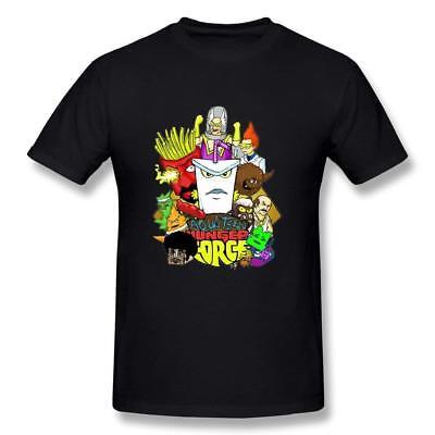 Men's Aqua Teen Hunger Force T-shirt Black Best Quality Custom T